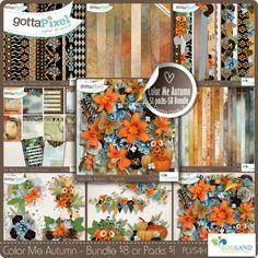 Color Me Autumn - The Bundle :: Gotta Grab It :: Gotta Pixel Digital Scrapbook Store by BooLand Designs