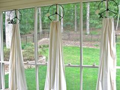 The editors at HGTV.com share creative and clever DIY window treatment ideas under $25.