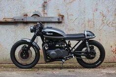#Cafe Racer Design Source #Kawasaki Z750B @Matt Valk Chuah Official Cafe Racer Design