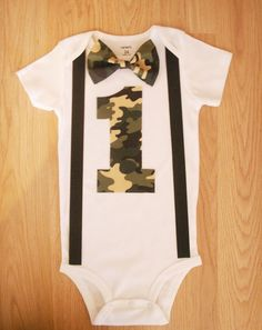 Camo outfit Camo birthday party Camouflage tie bodysuit boy Camo cake smash 1st birthday outfit Camo baby Camo birthday outfit Camo baby boy by kottoncactus on Etsy https://www.etsy.com/listing/173003347/camo-outfit-camo-birthday-party