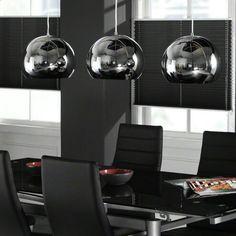 Chrome lamps