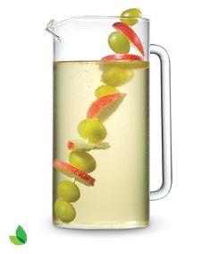White Sparkling Sangria Recipe with Truvía® Natural Sweetener