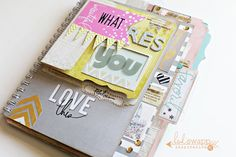 Heidi Swapp What Inspires You Memory File