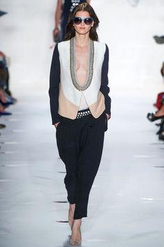 Diane von Furstenberg Spring 2013 Ready-to-Wear Collection Slideshow on Style.com.....the neckline