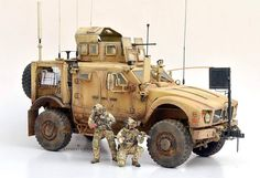 MRAP vehicles / real and models