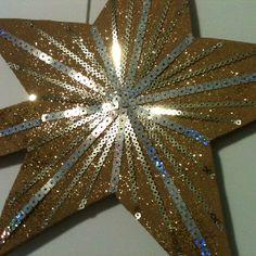 Estrela da arvore de Natal.