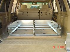 DIY Drawer System - Gonna have a go. Truck Bed Drawers, Truck Bed Storage, Van Storage, Storage Drawers, Truck Boxes, Truck Tool Box, Diy Camper Trailer, Vw Camper, Campers