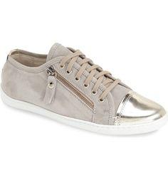 98a7ef74d8 AGL NIB Metallic Cap Toe Side Suede Fashion Sneaker Size 39.5 /9.5B Retail  $320