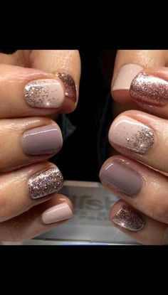 Get Nails, Fancy Nails, Pink Nails, Sparkle Nails, Purple Nail, Oval Nails, Stylish Nails, Trendy Nails, Nagellack Design