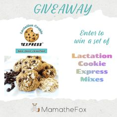 Lactation Cookie Express Giveaway – Ends 1-31