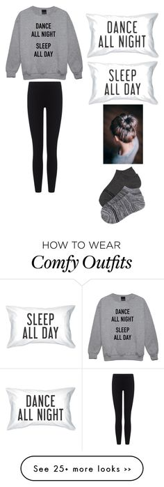 """""""Comfy/staying home #3"""" by amberpend on Polyvore. This is totally me"""