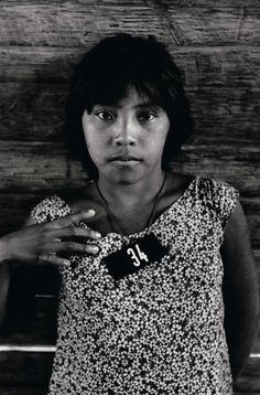 Claudia Andujar. Yanomami woman  from Brazil.