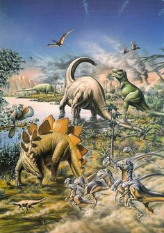 I love dinosaurs, like super love them. When I was little I had books about them and I would idenify them and just ahh! <3