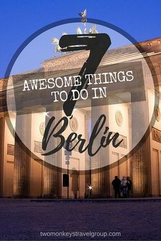 7 Awesome Things to do in Berlin, Germany. The true 'dark horse' of what is considered one of the most reserved countries in Europe, you'll be surprised at the number of things to do in Berlin, as well as its night life and cultural attractions. Unlike other big European cities like Rome or Paris, Berlin has only been known for its lifestyle since the nineties until today.