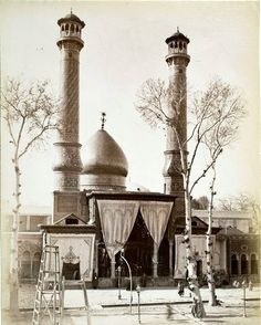Photographs of Persia (now Iran) in the Late and Early Century - Page 2 of 2 - Best of Web Shrine Iran Pictures, Old Pictures, Old Photos, Religious Architecture, Art And Architecture, Islamic City, Qajar Dynasty, Teheran, Persian Culture