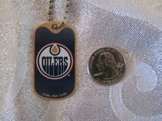 NHL-Edmonton-Oilers-Blue-Logo-DogTag-Necklace-backpacks-zippers-party-favors