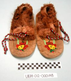 Moccasins :: University of Alaska Museum of the North