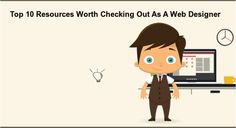 Top 10 #Resources Worth Checking Out As A #Web #Designer http://bit.ly/1E2urMf