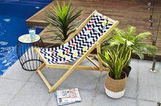 Hampton Timber Deck Chair