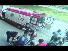Homem é atingido por pneu em Ipatinga e é socorrido pelo SAMU