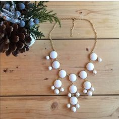 """T&J Designs Bubble Necklace Brand New necklace, very pretty color and made very well! 22"""" in length with 4"""" extender. CONSIDERING ALL OFFERS T&J Designs Jewelry Necklaces"""