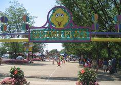 Sesame Place, PA