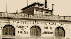 Primera fábrica Estrella Galicia en A Coruña, años 20.