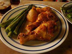My Low Fat Baked Chicken Legs Recipe