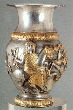 Another side of the Thracian Rogozen ewer