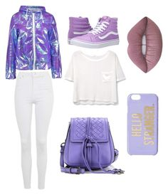 """Just think it... bad things could be go"" by bellirive ❤ liked on Polyvore featuring Vans, Boohoo, Topshop, MANGO, Lime Crime, Bottega Veneta and Kate Spade"