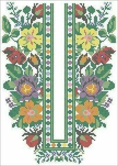 (12) Схеми для вишиванок безкоштовно Cross Stitch Embroidery, Embroidery Patterns, Cross Stitch Patterns, Mexican Embroidery, Folk Fashion, Embroidery Techniques, Pattern Fashion, Needlepoint, Bohemian Rug