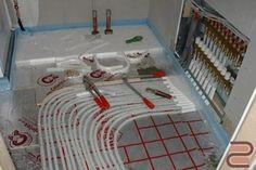 Система водяной теплый пол, где нагревательным элементом служит циркулирующая…