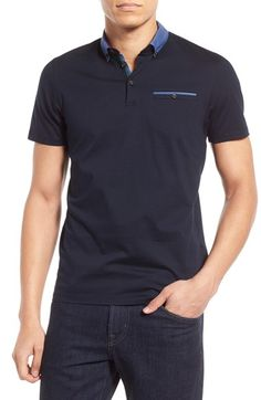 Ted Baker London 'My Thyme' Slim Fit Polo