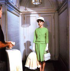 Audrey Hepburn as ''Gabrielle (Gabby) Simpson'' in the film ''Paris When it Sizzles''. 1964.