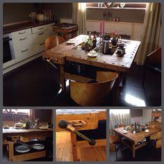 Fabulous Hobelbank Werkbank Tisch K che Workbench Vintage Design industrial Kitchen Redesigned by Ben P NRW