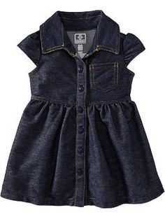 Chambray Shirt Dresses for Baby | Old Navy