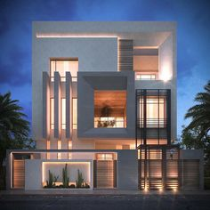 Modern Villa Exterior Design - by IONS DESIGN   Architecture Design ...