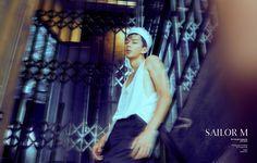 SAILOR M mr.triangle magazine AUG 2015  Photographer&Styling : Triangle Yang  Model : Sergio Hsu