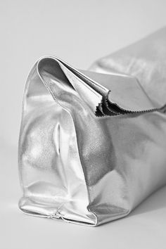 i-love-aesthetics: DIY 'foil' lunch bags: Esther Boutique, The Last Summer, Summer Fall, Love Aesthetics, Silver Paper, Silver Metal, Heavy Metal, Silver Bags, Estilo Fashion