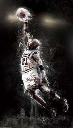 Michael Jordan, Chicago Bulls.