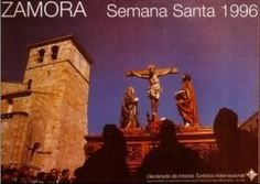 Cartel de la Semana Santa de Zamora 1996