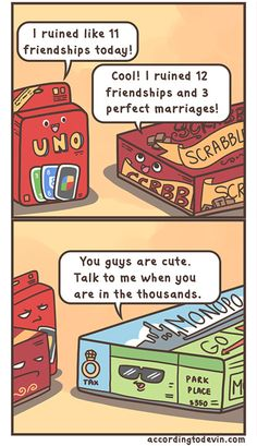 I find this really funny because years before I was born my parents almost got a divorce when my dad won by two dollars - Imgur