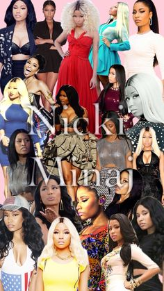 Nicki Minaj iPhone wallpaper