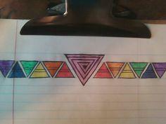 Gay Pride Tribal Tattoo