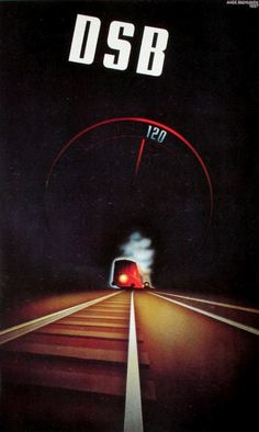 Back when the danish trains were fast and reliable