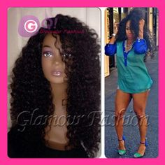 Online Shop GQ kinky curly lace front wig & glueless full lace wigs mongolian kinky curly virgin wig human hair wigs for black women BEST |Aliexpress Mobile