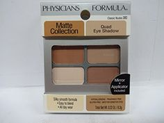Physicians Formula Matte Collection Quad Eyeshadow Classic Nudes 022 Ounce * You can get more details by clicking on the image.