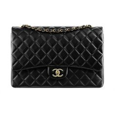 The Ultimate Bag Guide The Chanel Classic Flap Bag ❤ liked on Polyvore featuring bags, handbags, purses, chanel handbags, handbags purses, flap bag, chanel and chanel bags