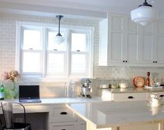 white tile with gray grout | Gray Grout White Subway Tile Design / For my kitchen - Juxtapost