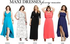 Curvy Girl Maxi Dress Guide by Girl WIth Curves